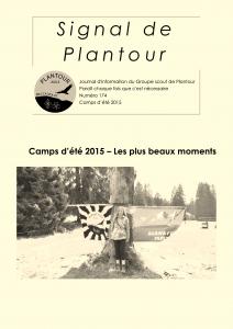 Signal de Plantour 174 - Camps d'été 2015