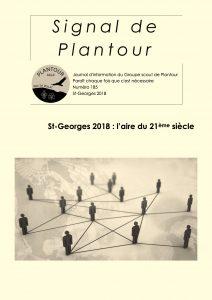 Signal de Plantour 185 - Printemps 2018