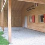 Couvert de la cabane